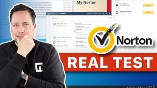 Norton Antivirus Review 2021 & Real Test screenshot 3
