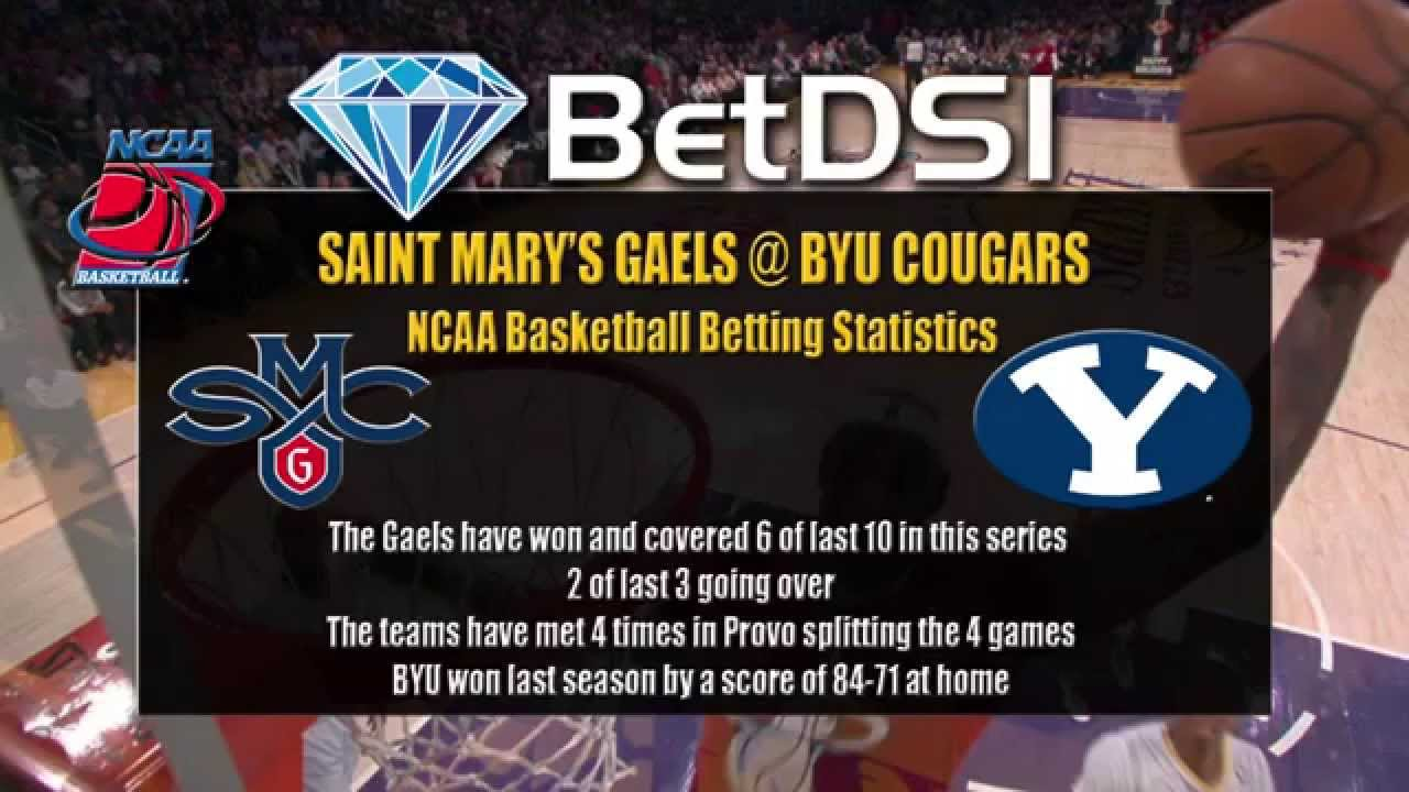 Saint Marys Gaels vs BYU Cougers NCAA Basketball Odds and ...
