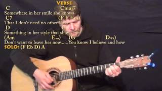 Something (The Beatles) Strum Guitar Cover Lesson with Chords/Lyrics