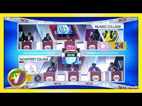 Munro College vs DeCarteret College | TVJ Schools' Challenge Quiz 2021
