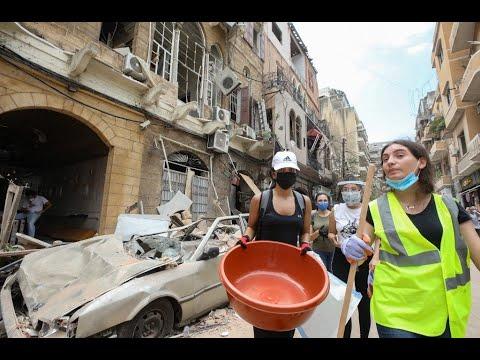 بالفيديو اللبنانيون يقيّمون الوضع بعد انفجار بيروت الكارثي  - نشر قبل 12 ساعة