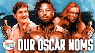 Screen Junkies 2018 Oscar Nominations: Our Academy Awards Picks