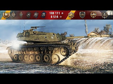 ШИКАРНЫЙ БОЙ Т110Е5 World of Tanks