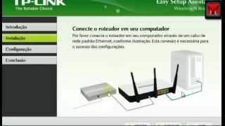 Instalação Roteador TP-LINK TL-WR941ND Parte 1