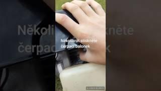 Jak nastartovat křovinořez