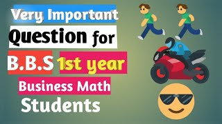 Very Important Question for BBS 1st year Business Math Students | Rank Correlation |TU |IN NEPALI |