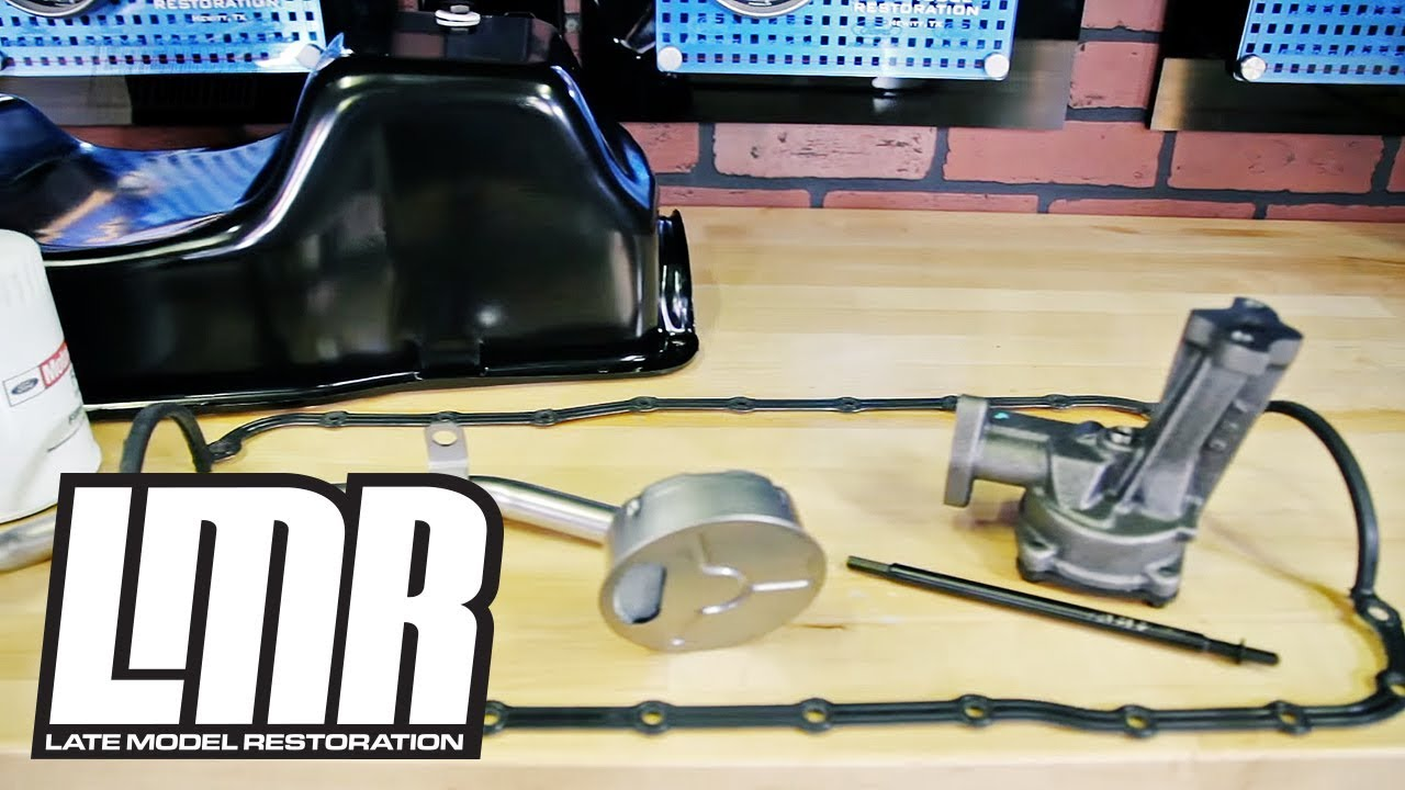 How To Install 302 351 Oil System Components 79 95 Youtube 1990 F150 5 0 Heads Engine Diagram