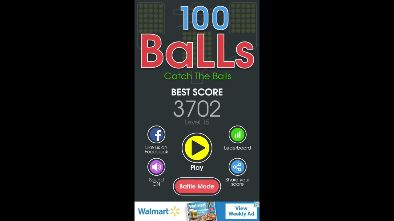 Trying To Beat My Highscore in 100 Balls