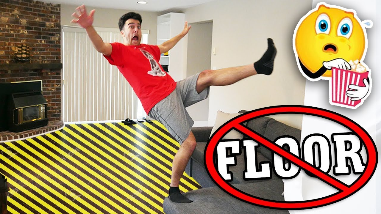 try-not-to-touch-the-floor-challenge-impossible-floor-is-lava-challenge