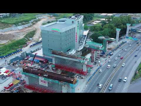 MRT SSP line LATEST UPDATES [DAMAI, SRI DAMANSARA, MANJALARA & KEPONG STATION]