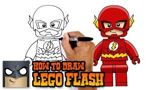How to Draw Lego Flash
