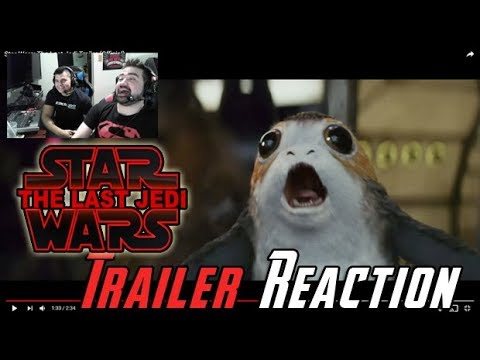 Thumbnail: Star Wars: The Last Jedi Trailer Reaction