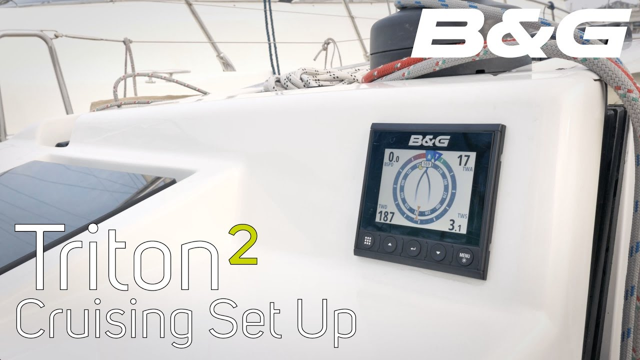 Triton² Speed/depth/wind pack | B&G Sailing USA