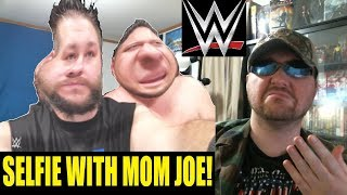 (WWE YTP) KEVIN OWENS TAKES A SELFIE WITH MOM JOE REACTION!!! (BBT)