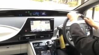 2月12日、トヨタの燃料電池車「MIRAI(ミライ)」が福岡県庁の...