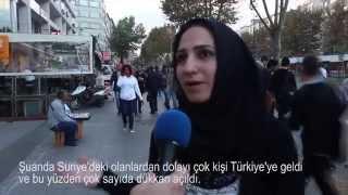 Suriyelilerin Türkiye'ye gelmesi