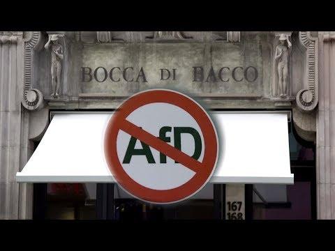 BOCCA DI BACCO: In diesem Restaurant ist die AfD unerwünscht