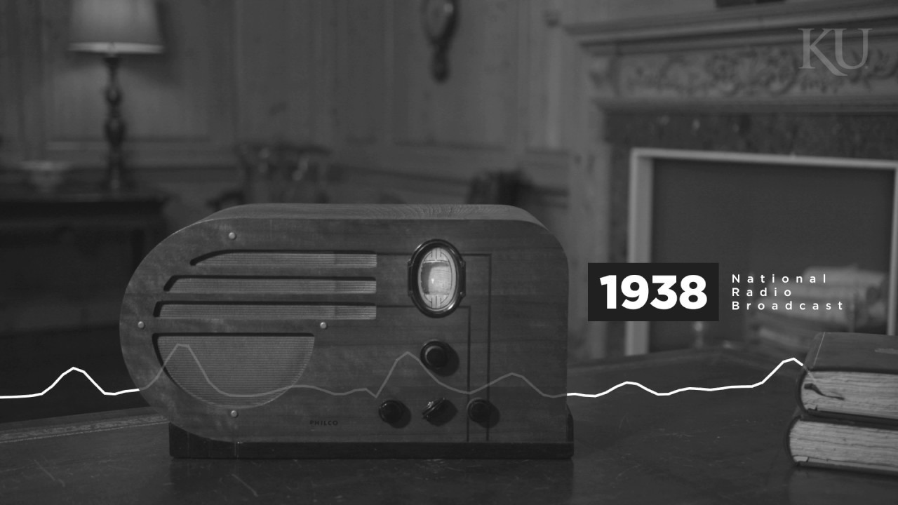 Download 80 years later, the Rock Chalk Chant resounds as a radio signal
