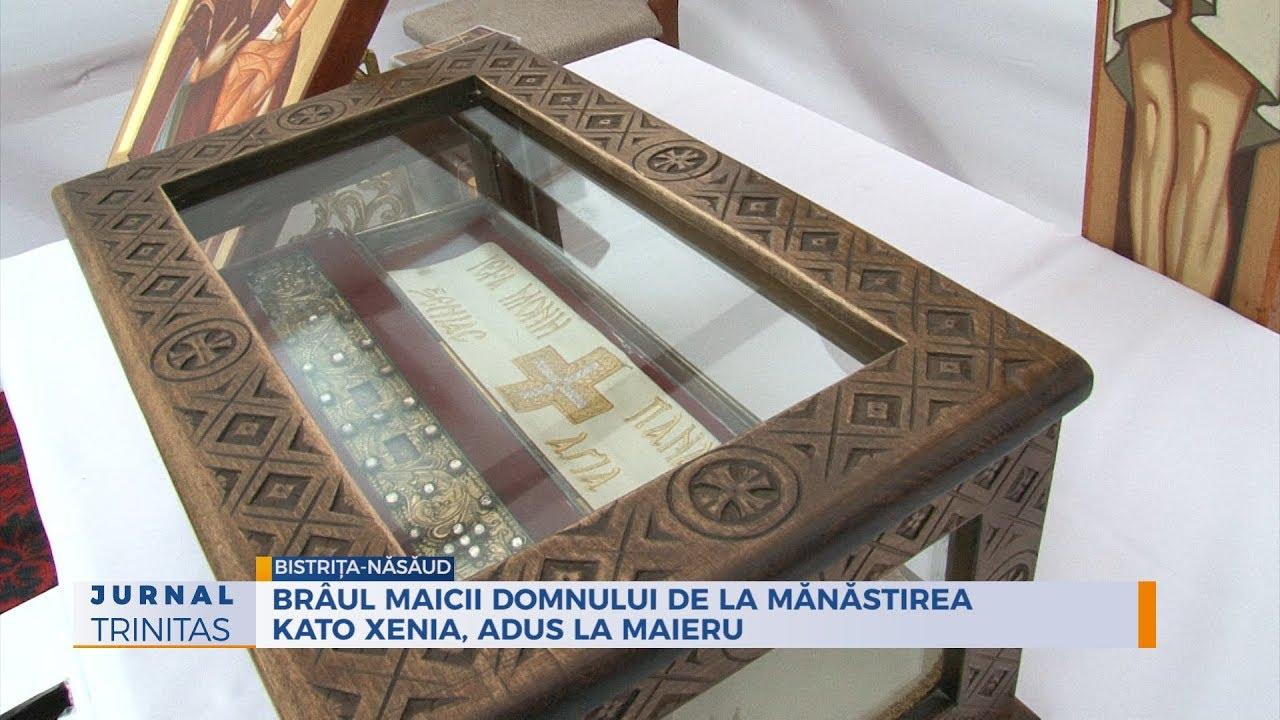 Braul Maicii Domnului De La Mănăstirea Kato Xenia Adus La Maieru