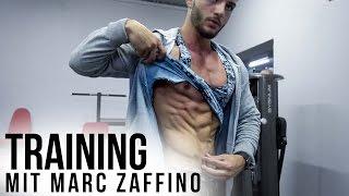 7% Körperfett NATURAL Bodybuilder Marc Zaffino - Brusttraining // Karl-Ess.com