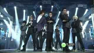 [110821] Super Junior  - Mr Simple on Inkigayo