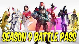 Fortnite season 9 battle pass. SEASON 9 TRAILER. New skins,double pickaxes,new emotes