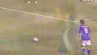 Amazing Japanese free kick | Video