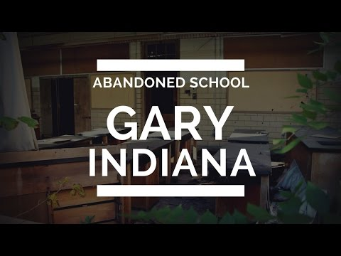 Exploring an Abandoned School in Gary Indiana