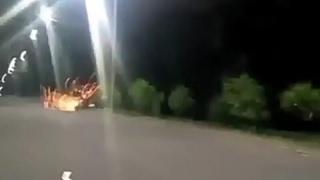 detik detik kecelakaan irfan chabix (slow motion) RIP IRFAN 78