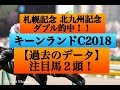 キーンランドカップ2018【過去のデータ】注目馬2頭!!秋のスプリント王はどの…
