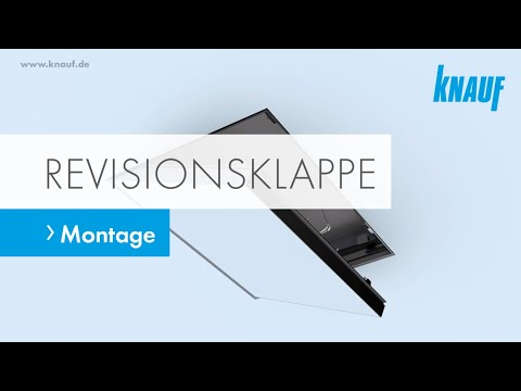 Turbo Knauf Revisionsklappe - Montage - YouTube WW67