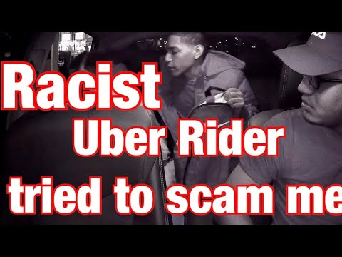 Uber Rider | TIRED TO SCAM ME FOR A FREE RIDE!