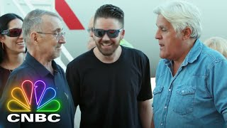 Jay Leno Gives A Special Surprise To A Fan Battling Cancer | Jay Leno's Garage