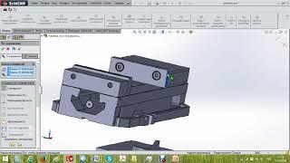Видео обучение - добавление тисков в SolidCAM