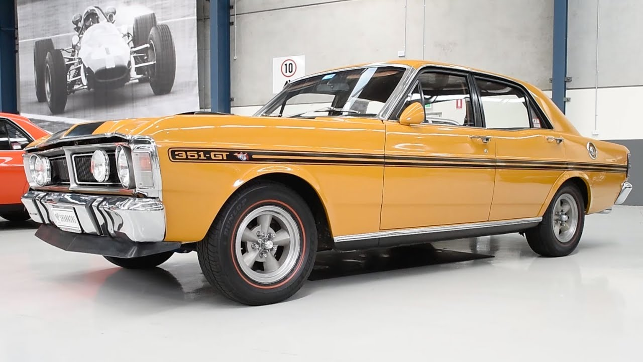 Ford And Ford Auction >> 1971 Ford Falcon Xy Gt Sedan 2017 Melbourne Nov Auction