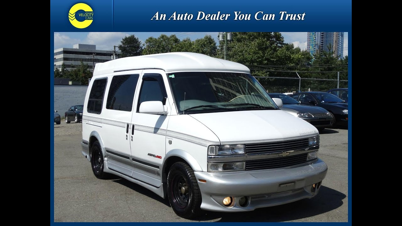 Camper Cars 1997 Chevrolet Astro Starcraft Camper Van For Sale In Vancouver