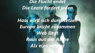 Eurovision Iceland 2019 Pre - Hatari - Hatrið mun sigra (german lyrics)