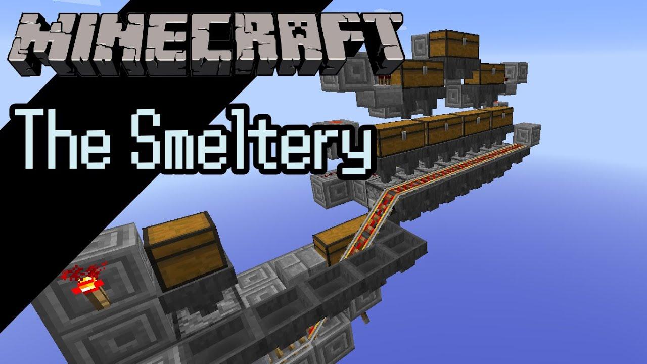 Minecraft 1.8 -- Automatic Furnace Array - YouTube