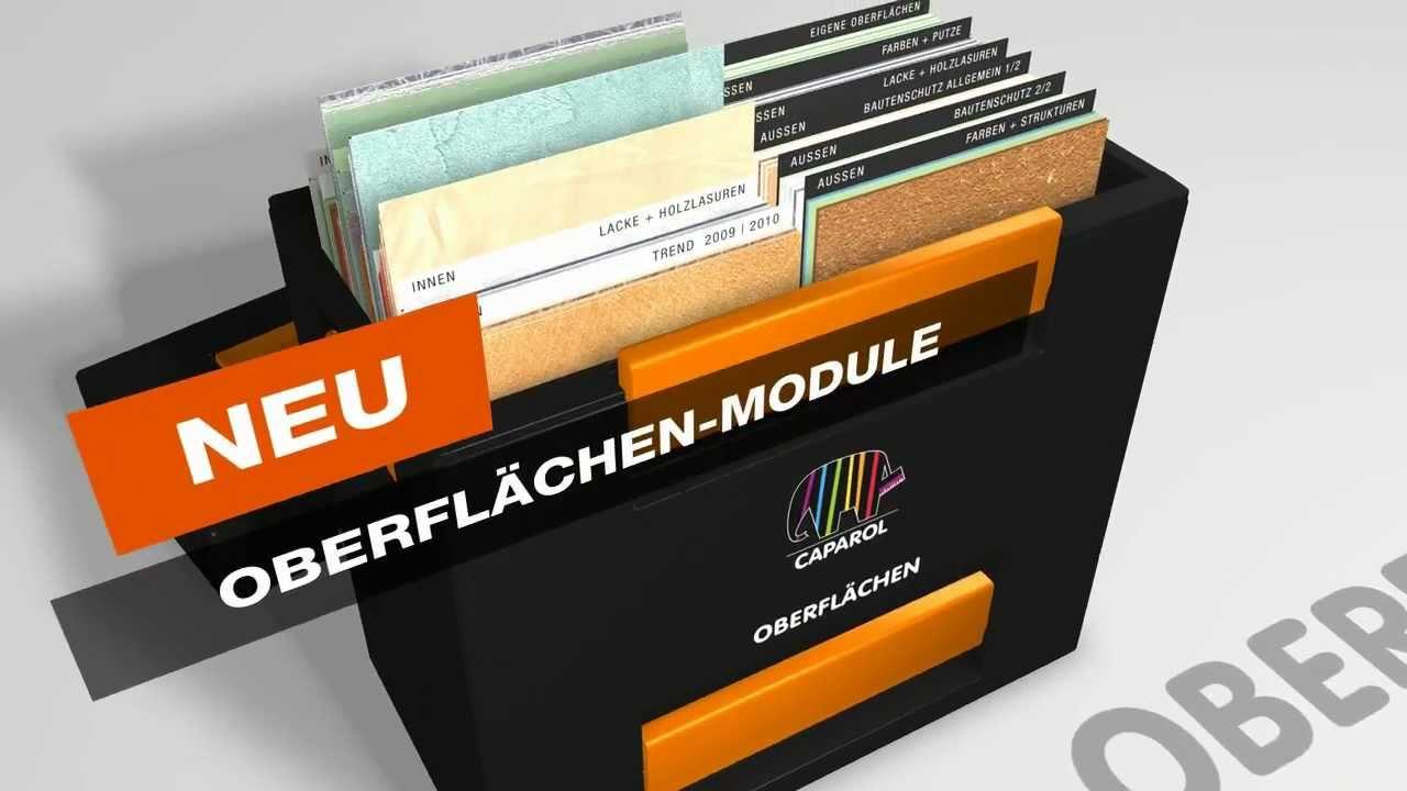 musterboxen zur kundenberatung von caparol youtube. Black Bedroom Furniture Sets. Home Design Ideas