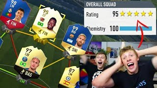 195 RATED 😱⛔ BREAKING WROETOSHAW 194 WORLD RECORD FUT DRAFT!