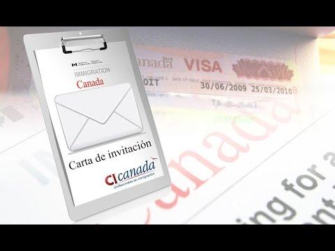 Visa De Turista A Canadá Con Carta De Invitación