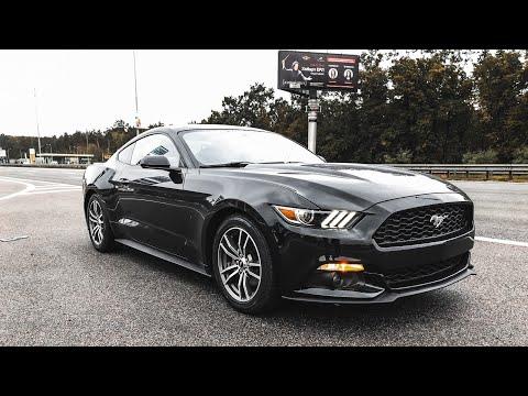 Ford Mustang 2.3 EcoBoost. Настоящий Mustang.