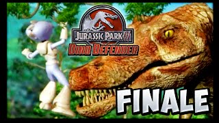 Crush the Spinosaurus || Jurassic Park III - Dino Defender PC [ Jurassic Park Month ]