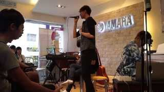 Cruise Tan Music Sharing at Yamaha Batu Pahat, Johor, Malaysia Recording Singing Performance 01