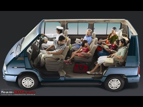 9 Seater Car >> AV Tata Winger - YouTube