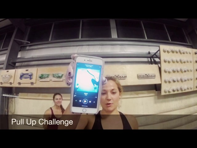 Pull Up Challenge with Sasha DiGiulian and Amaya Bayne