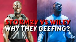 Stormzy Vs Wiley - Why They Beefing? #UKRapTalkDaily