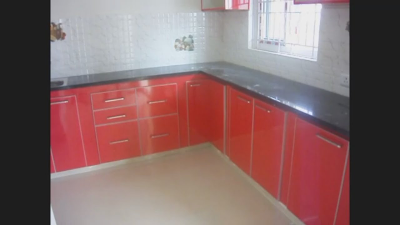 L Shaped Kitchen Design For Small Kitchens Eurosatr Kitchen Youtube