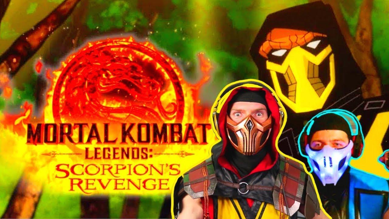 mortal kombat legends scorpions revenge sub zero