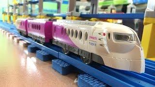 プラレール  たのしい列車シリーズ Peach×ラピート ハッピーライナー (03593 jp)